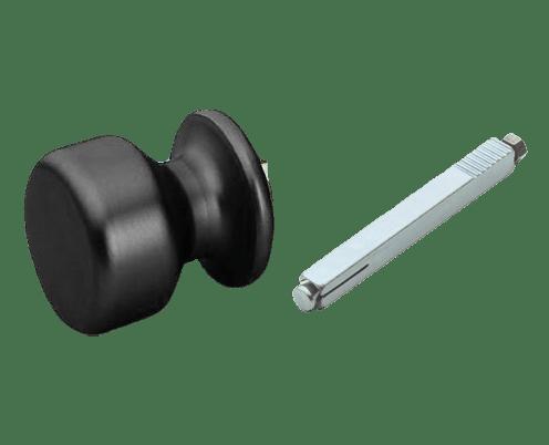 anodized aluminium door knobs